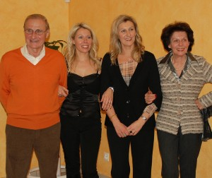 Candido, Monica, Tatiana, Eliana Sargenti